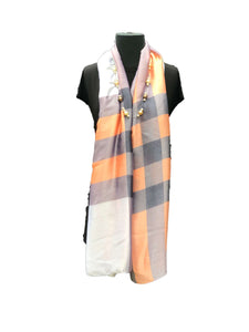 Soft Orange Printed Scarf - Global Trendz Fashion®