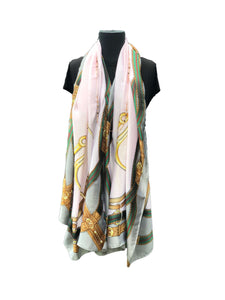 Light Multicoloured Printed Scarf - Global Trendz Fashion®