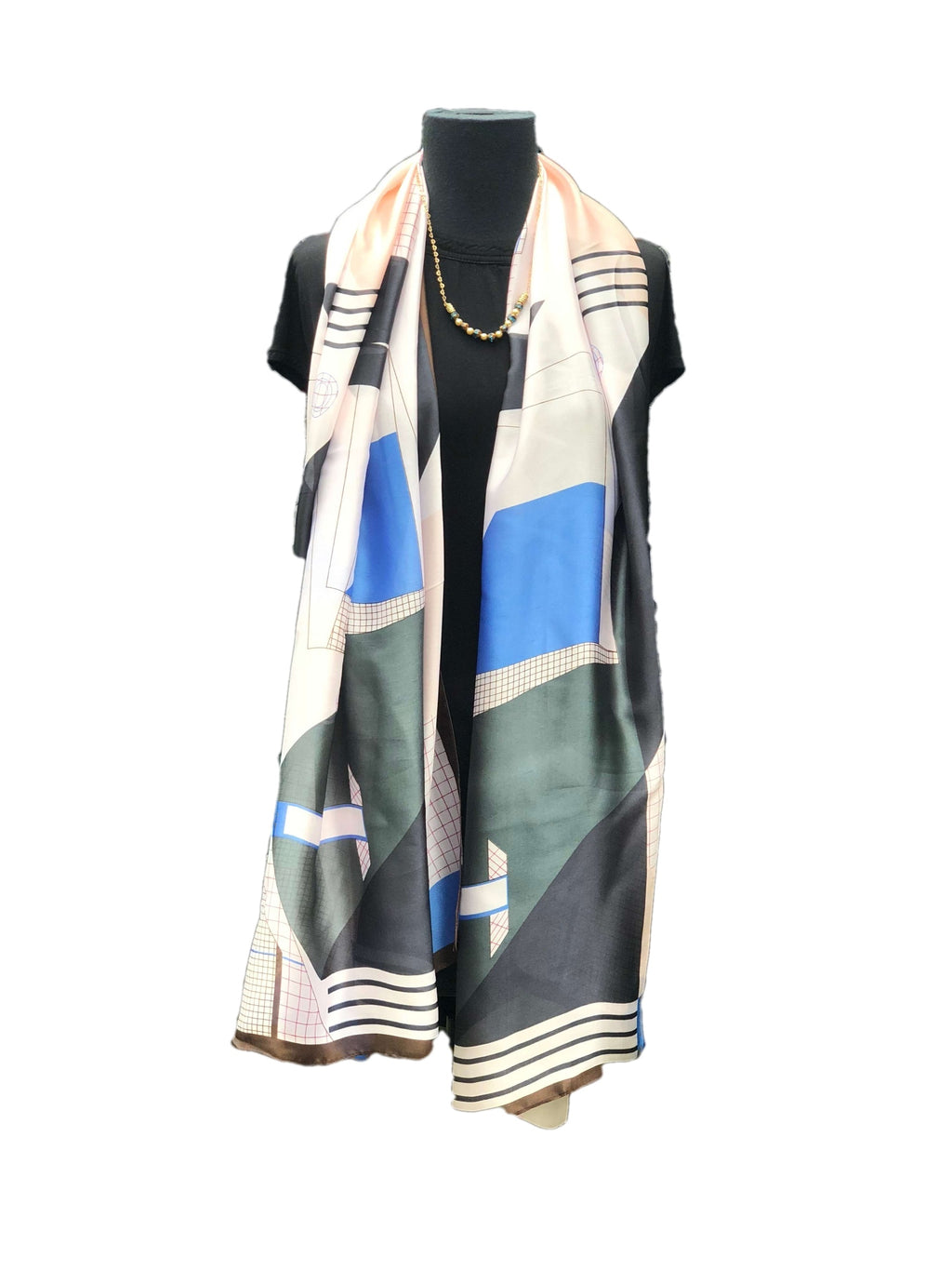 Gorgeous Multicoloured Printed Scarf - Global Trendz Fashion®
