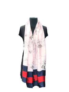 Cream Coloured Printed Scarf - Global Trendz Fashion®