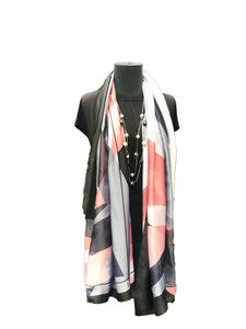 Gorgeous Coral Patterned Printed Scarf - Global Trendz Fashion®