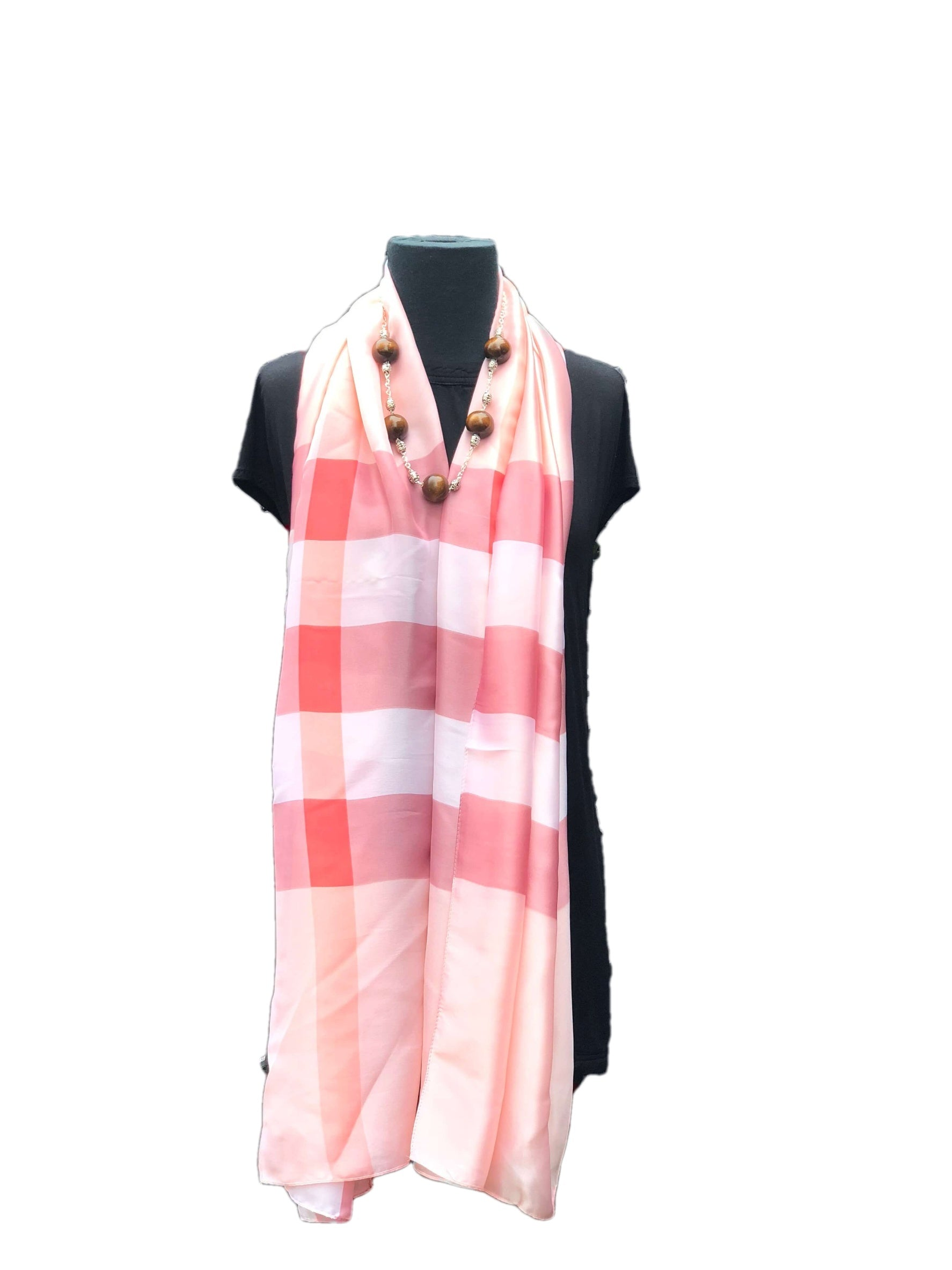 Stunning Coral Printed Scarfs - Global Trendz Fashion®
