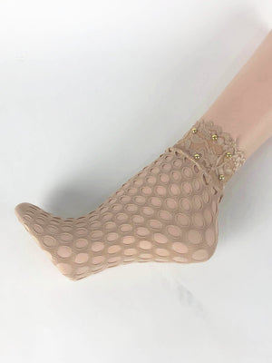 Circle Shaped Skin Sheer Socks - Global Trendz Fashion®