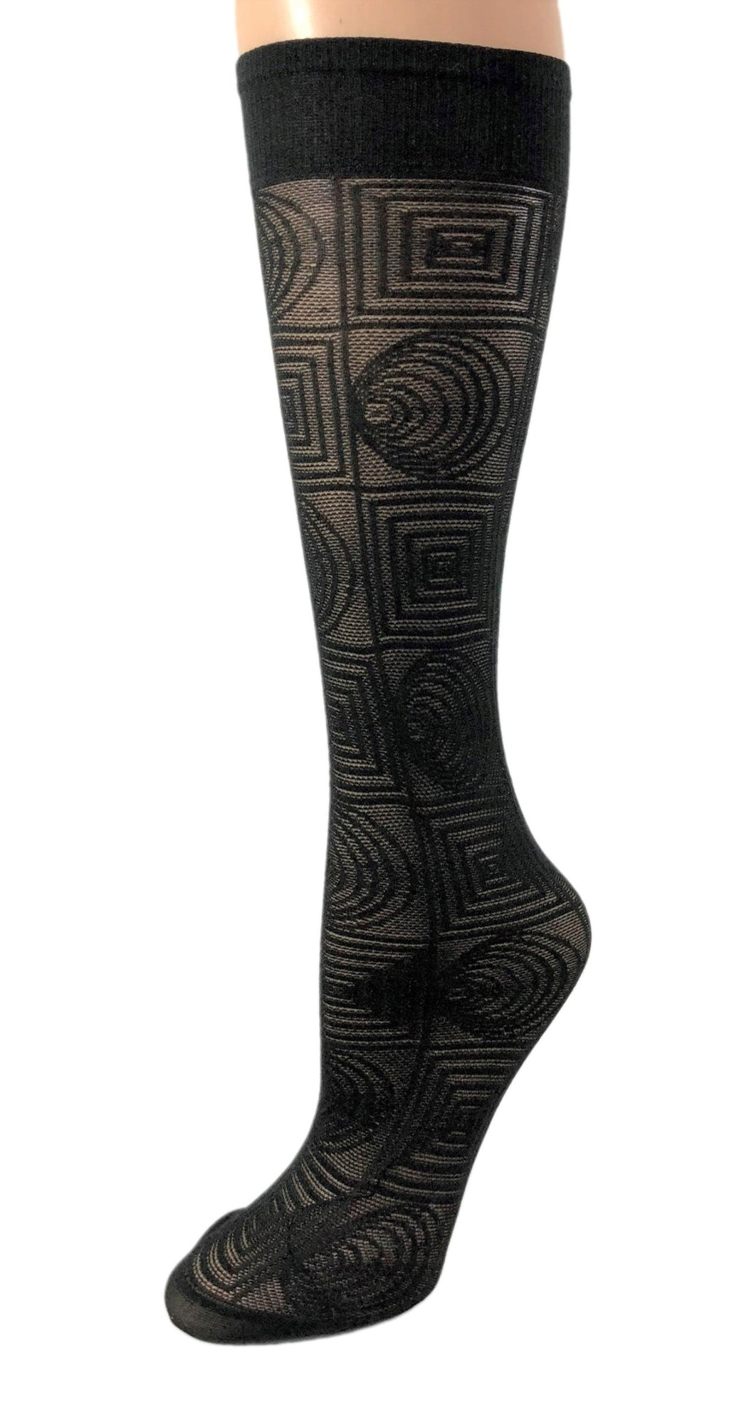 Cute Black knee high Socks - Global Trendz Fashion®