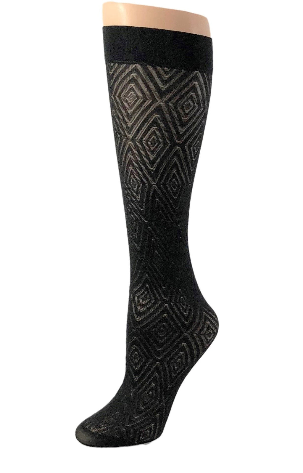 Gorgeous Diamond Patterned Socks - Global Trendz Fashion®