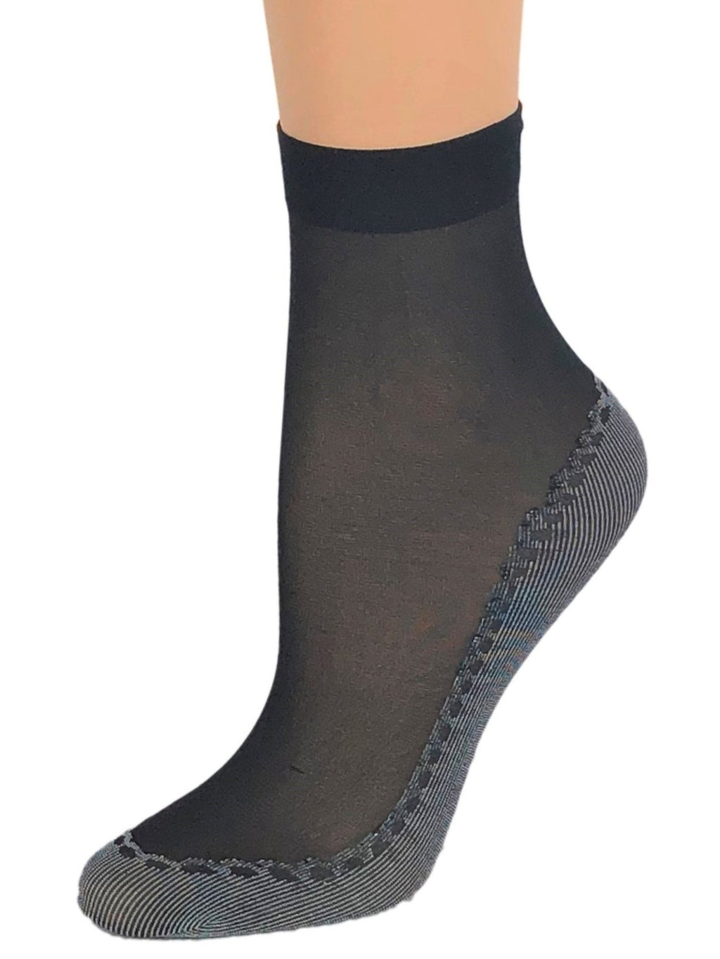 Classy Black Sheer Socks - Global Trendz Fashion®