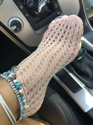 Classy Holes Mesh Socks - Global Trendz Fashion®