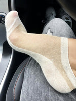Glowing White Ankle Sheer Socks - Global Trendz Fashion®