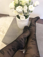 Beautiful Black Flowers Socks - Global Trendz Fashion®