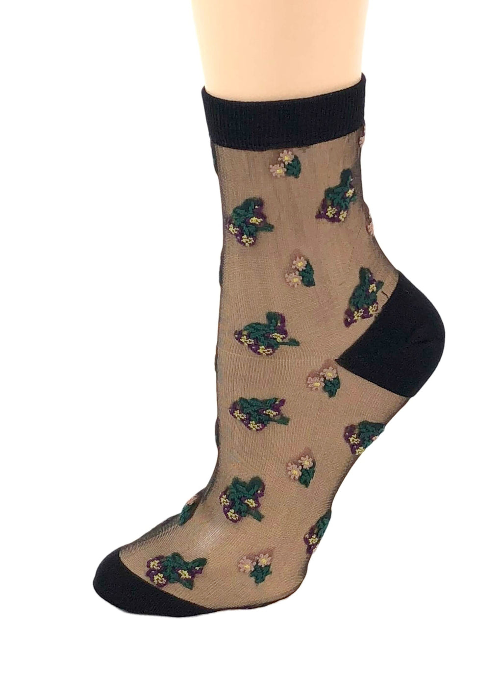 Tender Flowers Sheer Socks - Global Trendz Fashion®