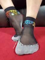 Light Prism Henna Sheer Socks - Global Trendz Fashion®