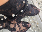 Rich Black Tulle Socks - Global Trendz Fashion®