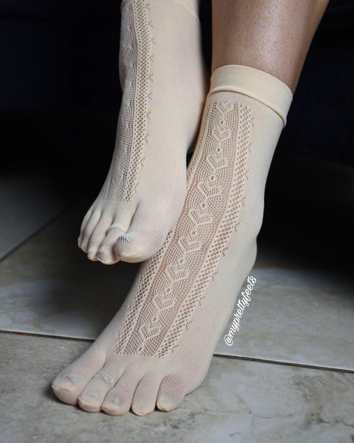 Heart Toe Mesh Socks - Global Trendz Fashion®