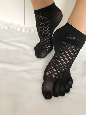 Flattery Toe Mesh Socks - Global Trendz Fashion®