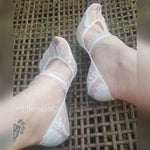 Frosted Ankle Sheer Socks with frill elastic - Global Trendz Fashion®