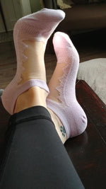 Beautiful Light Purple Ankle Sheer Socks - Global Trendz Fashion®