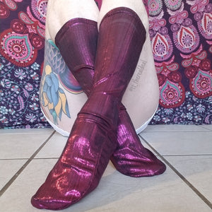 Sangria Reflective Socks - Global Trendz Fashion®