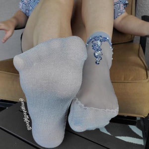 Exquisite Henna Sheer Socks - Global Trendz Fashion®