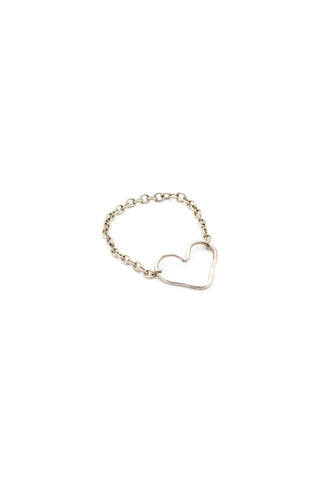 Love is All Encompassing Ring (Silver)