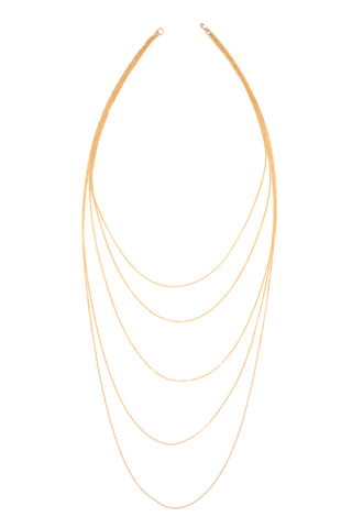 Angel Wing Necklace (Gold)
