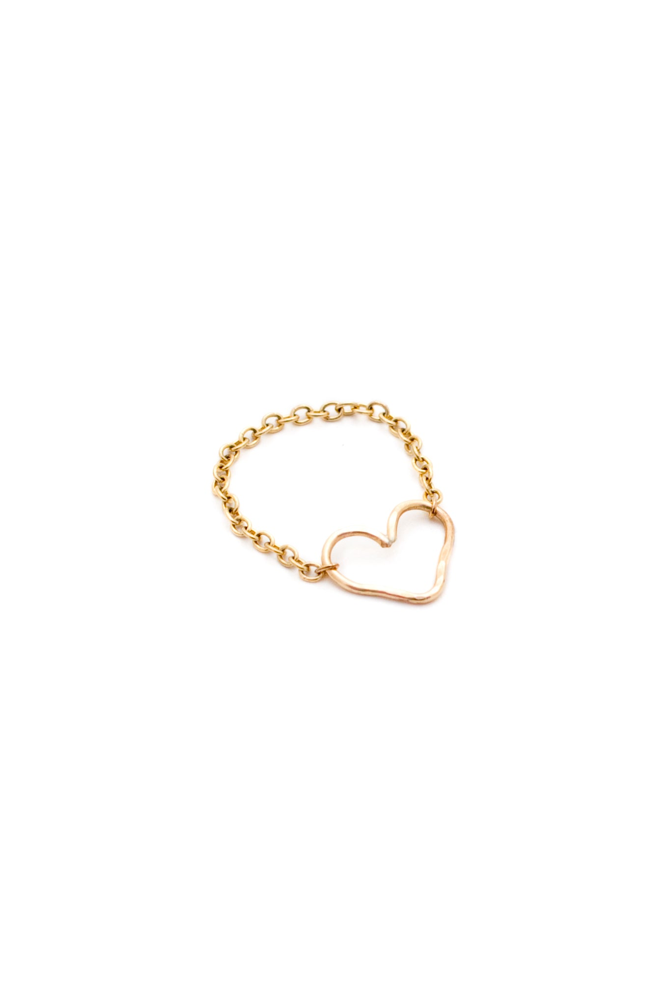 Heart O Gold Ring