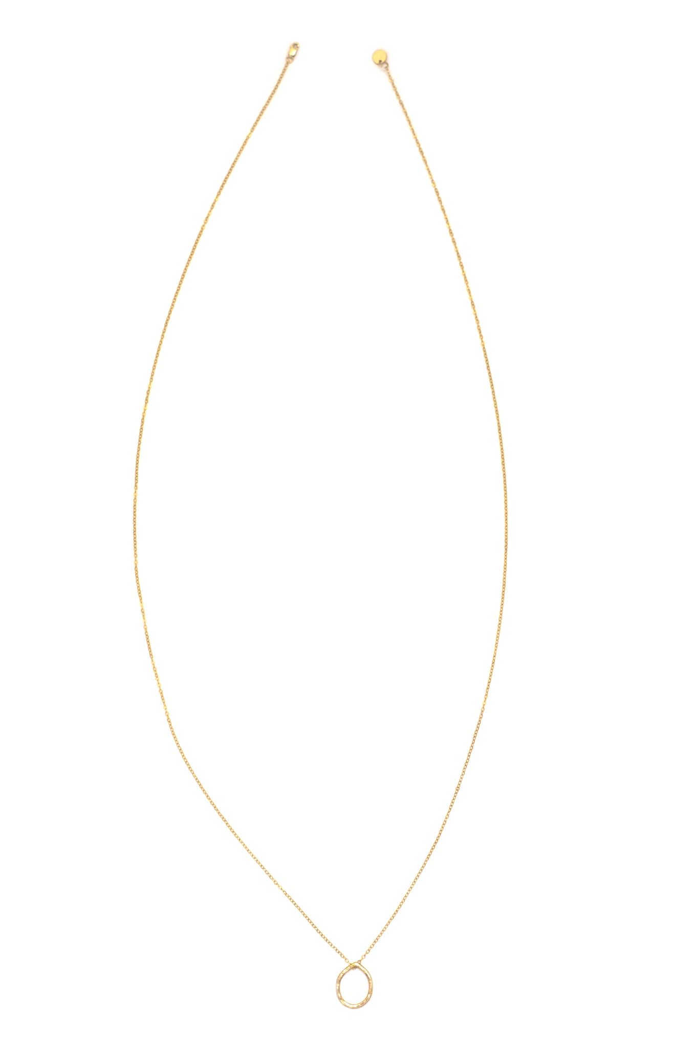 Tear Drop Necklace (Gold)