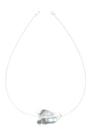 Tear Drop Necklace (Silver)