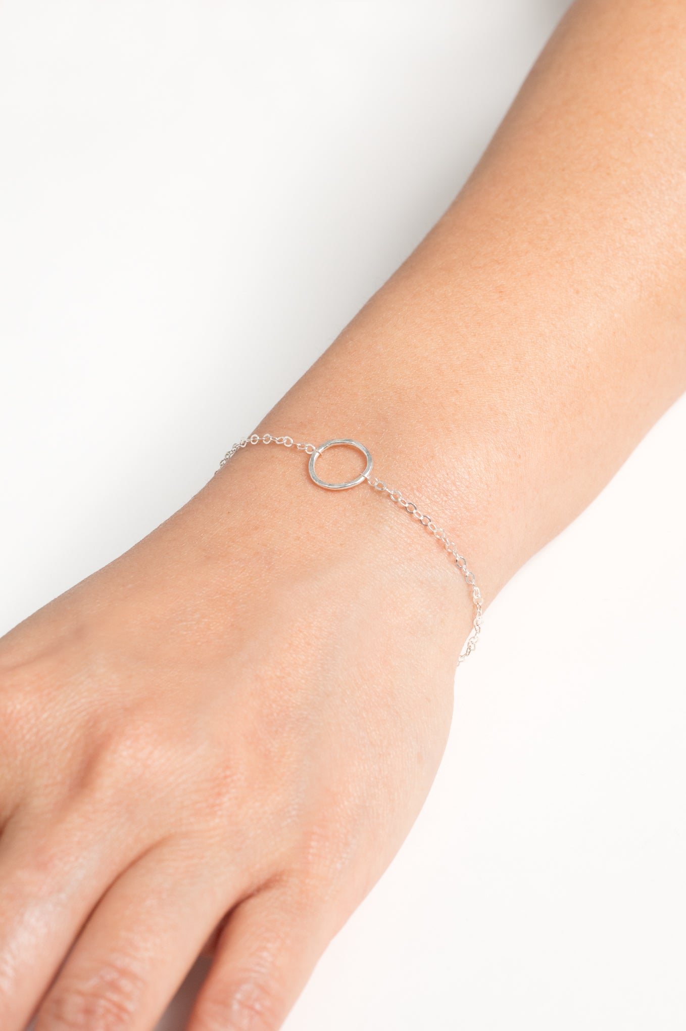 Love is All Encompassing Bracelet (Silver)