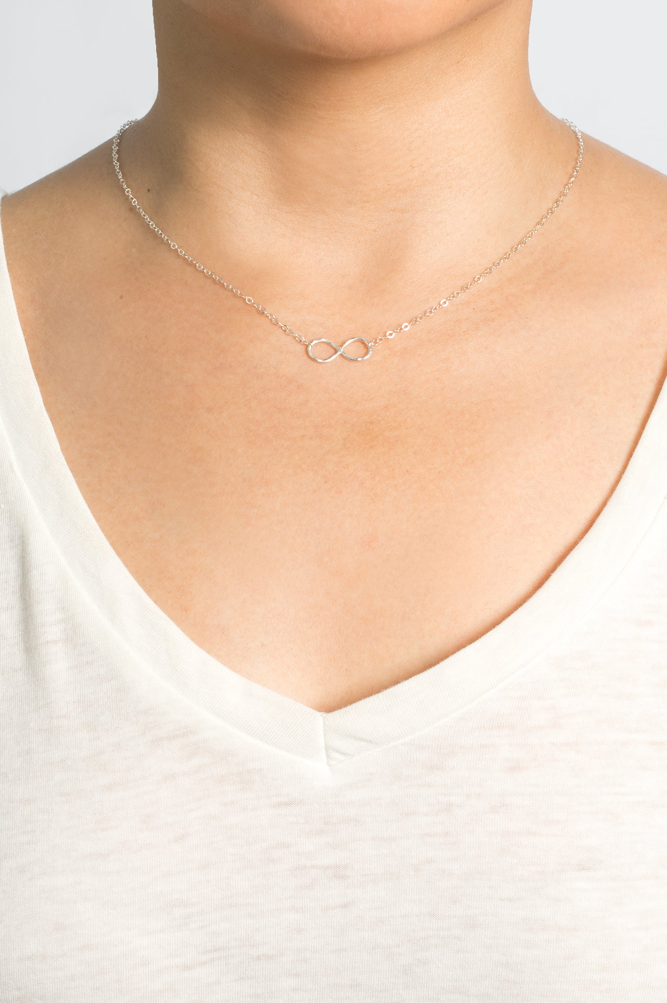 Infinite Love Sterling Necklace
