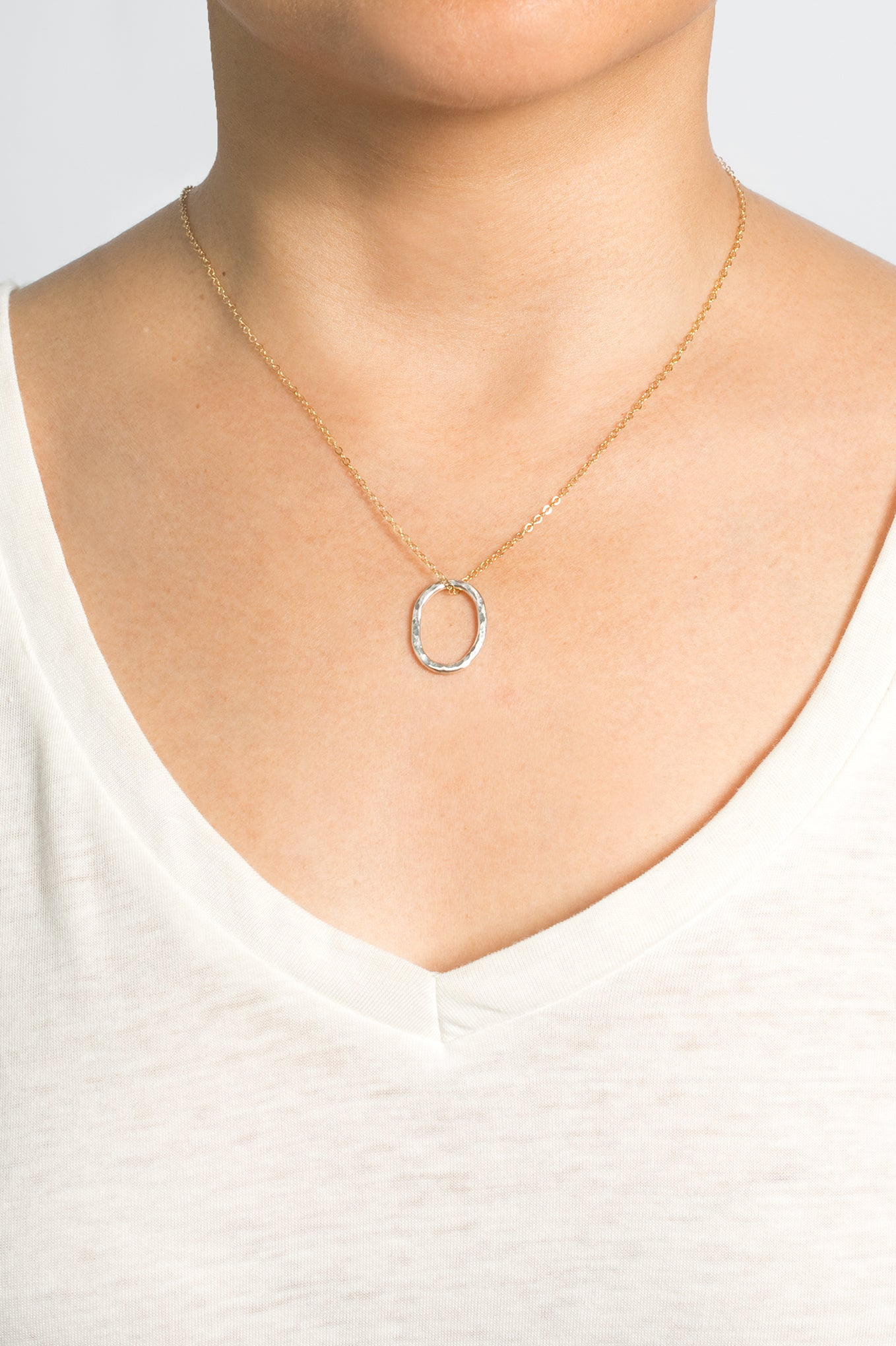 Links Sterling Necklace