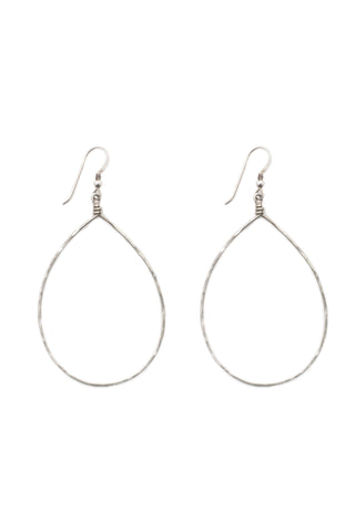 Cascade of Blessing Earrings (Silver)