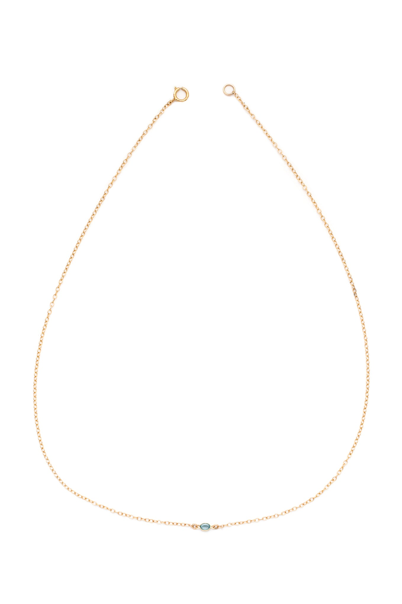 Ocean Necklace (Gold)