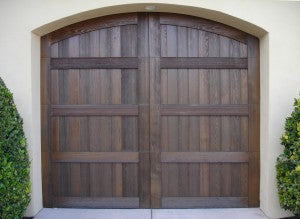 Angelo - Spanish Style Custom Wood Garage Door