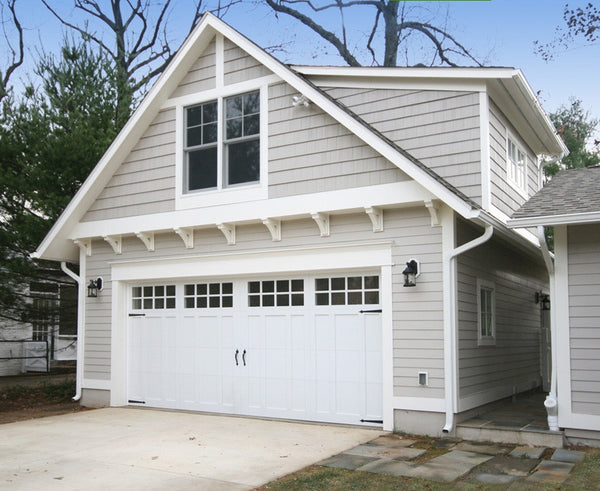 Aspen - Craftsman Style Custom Wood Garage Door