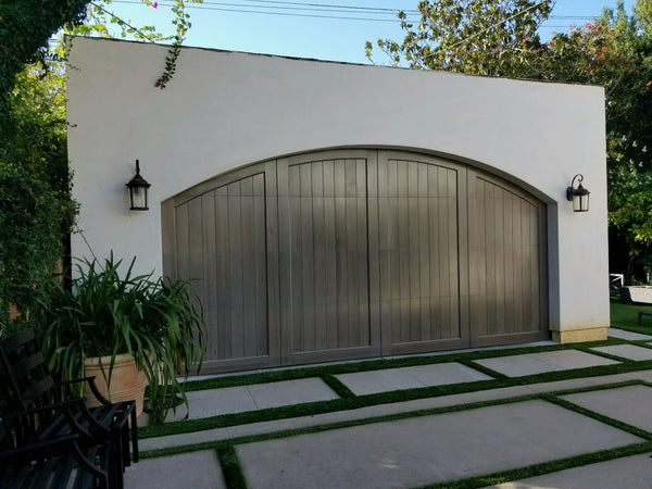 Artesia - Spanish Style Custom Wood Garage Door