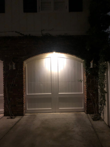 Caprice - Spanish Style Custom Wood Garage Door