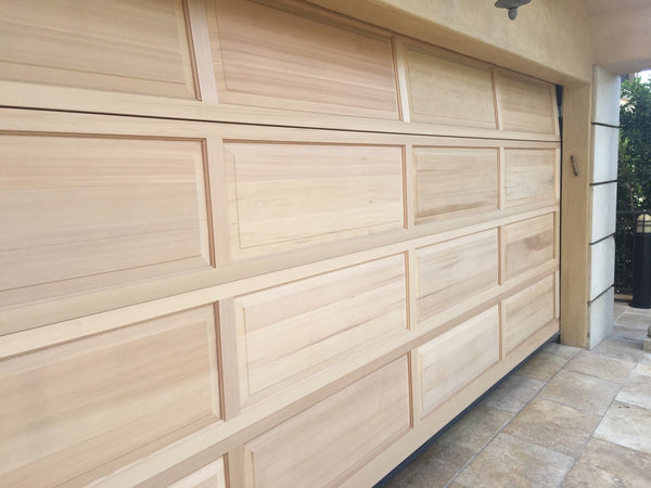 Denver - Colonial Style Custom Wood Garage Door