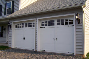 Malibu - Craftsman Style Custom Wood Garage Door