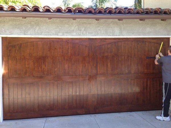 Adriano - Spanish Style Custom Wood Garage Door