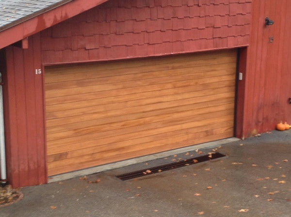 Emilio - Modern Style Custom Wood Garage Door