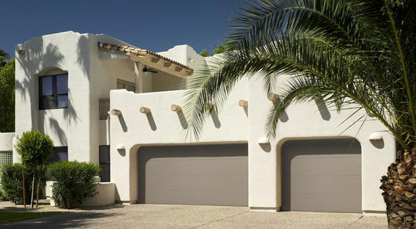 Flush Panel Steel Garage Door