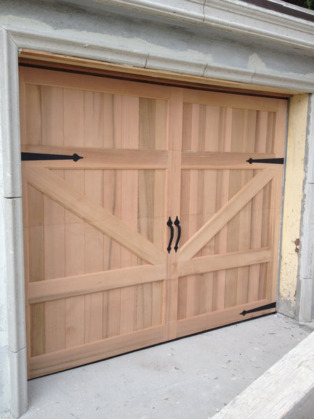 Gabriel   Barn Style Custom Wood Garage Door