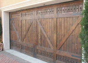Gabriel - Barn Style Custom Wood Garage Door