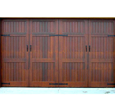 Giovanni - Spanish Style Custom Wood Garage Door