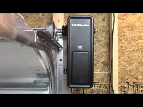 LiftMaster Jackshaft - 8500W DC Battery Backup Wall Mount Wi-Fi Garage Door Opener