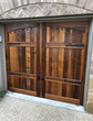 Lafayette - Spanish Style Custom Wood Garage Door