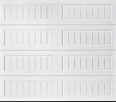 Long Panel Bead Board Steel Garage Door