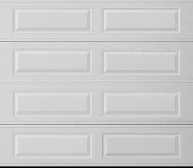 Long Panel Steel Garage Door