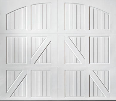 Lucern Steel Garage Door
