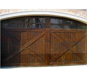 Luciano - Barn Style Custom Wood Garage Door